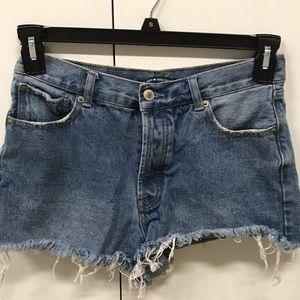 Pants - Brandy Melville Denim Shorts - Size S